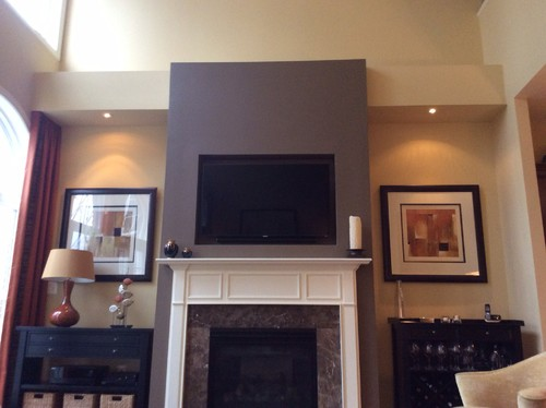 Fireplace and built ins?