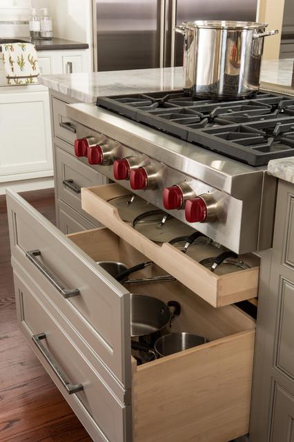 Ansley Park Transitional Kitchen transitional
