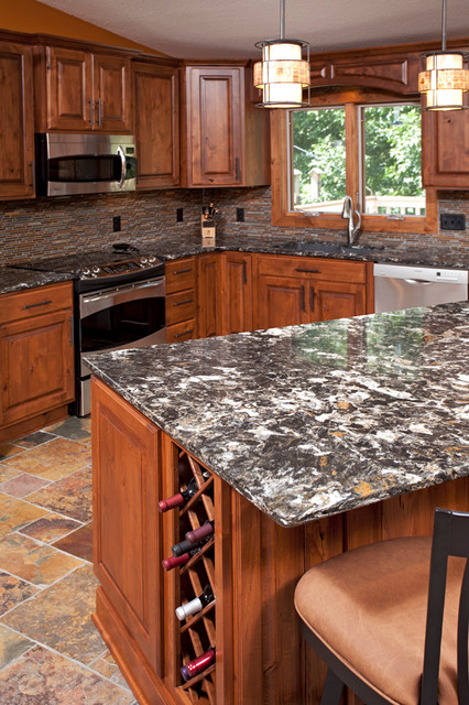 Eagan Alder Kitchen  Rustic  Kitchen Countertops. Kitchen Paint Colors With Cream Cabinets. Kitchen Cabinets Colors To Paint. How To Make A Concrete Kitchen Countertop. Kitchen Color Ideas White Cabinets. Colors To Paint Kitchen. Can U Paint Kitchen Countertops. Kitchen Backsplash Brick. Kitchen Countertops Stainless Steel