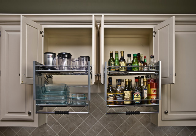Pull Down Shelves - Kitchen Drawer Organizers - other metro - by ShelfGenie of San Antonio