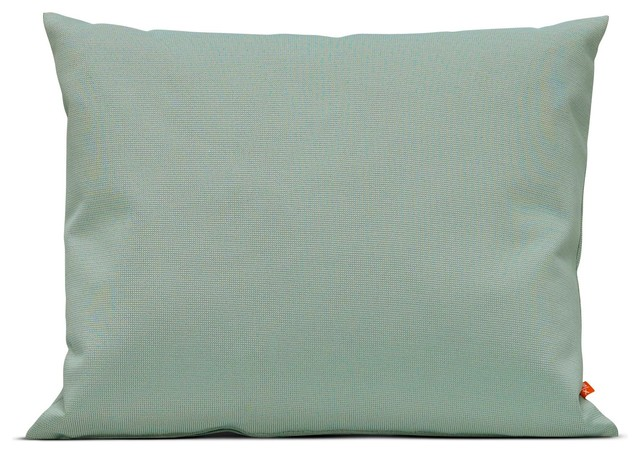Barriere cushion 50x40, Dusty green - Traditional - Outdoor Cushions And Pillows - by Skandium