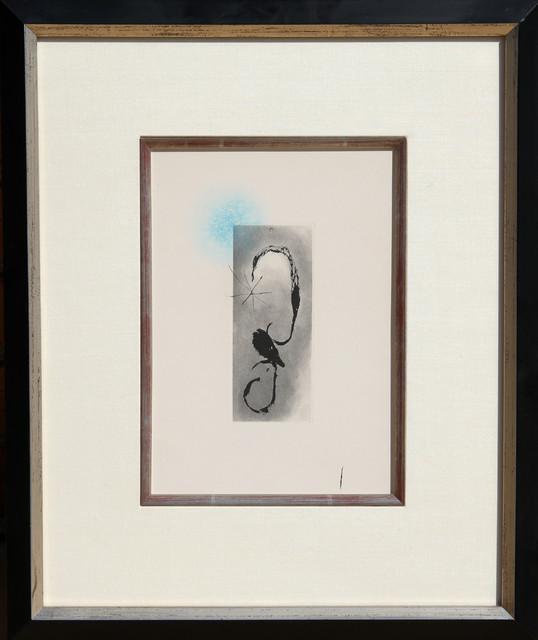 Joan Miro, Sans le Soleil, malgre les autres astres, il ferait nuit, Aquatint Et modern-artwork