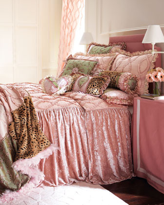 """""""Sweet & Sassy"""" Bed Linens traditional-bedding"""