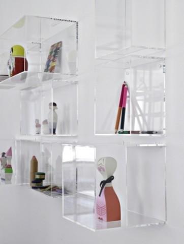 Display Me Box, High Square - Modern - Display And Wall Shelves - by La Fabrika