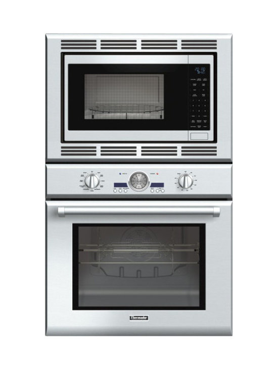 "Thermador Professional 30"" Combination Wall Oven, Stainless Steel 