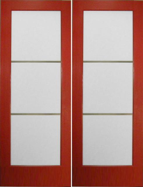 Modern interior French Doors - double doors - Modern - Patio Doors ...