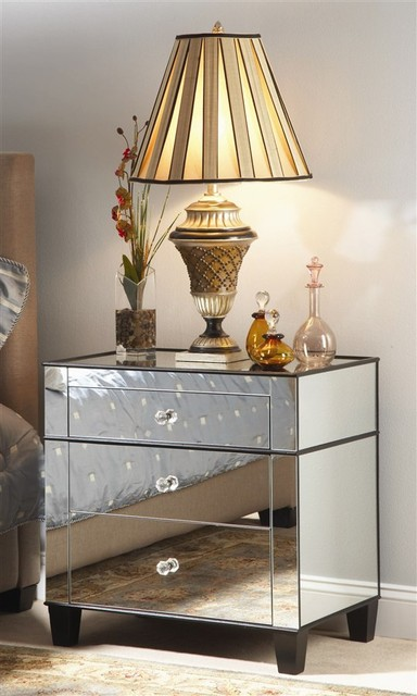 Chelsea Nightstand eclectic nightstands and bedside tables