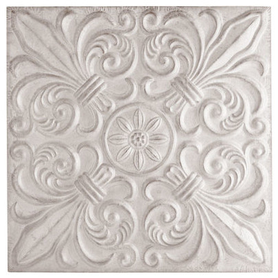 Embossed Tile Wall Decor Traditional Artwork By Pier 1 Imports