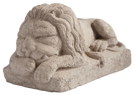 Sleeping Indian Lion traditional-artwork