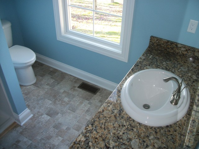 Bathroom, New Construction, Wadsworth, OH traditional-vanity-tops-and-side-splashes