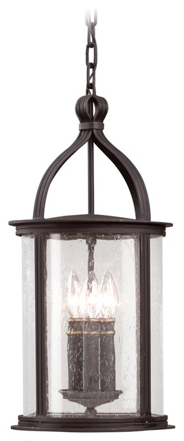 """Scarsdale Collection 21"""" High Outdoor Hanging Light contemporary-outdoor-hanging-lights"""