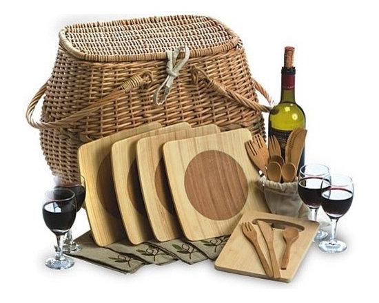 Eco Picnic Basket for 4 -