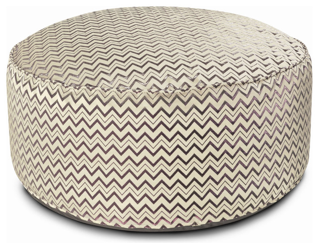 missoni home golden age pop leeka pouf ottoman msh1847. Black Bedroom Furniture Sets. Home Design Ideas