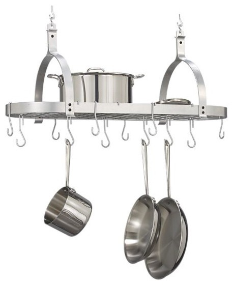 Enclume Oval Pot Rack modern-pot-racks-and-accessories