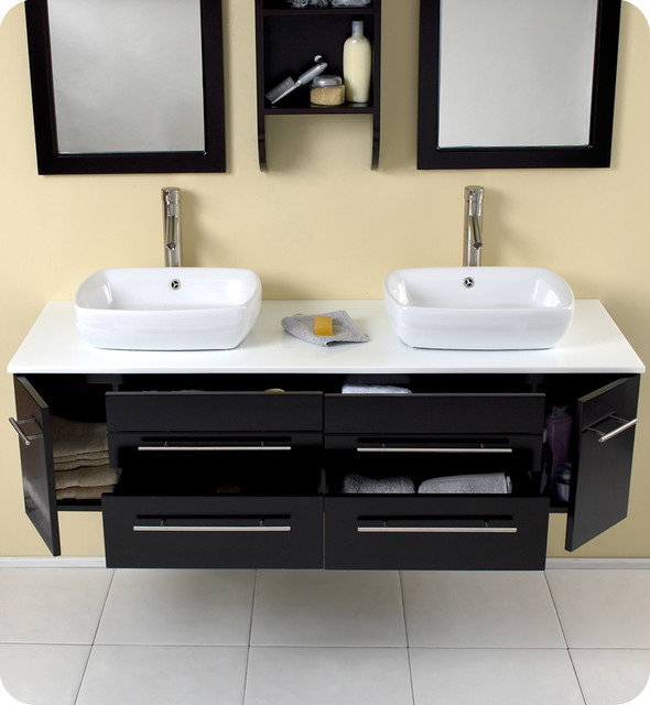 floating bathroom vanities contemporary bathroom vanities and sink