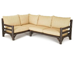 Rustic Sectional #1257, #1259 by La Lune Collection rustic-sectional-sofas
