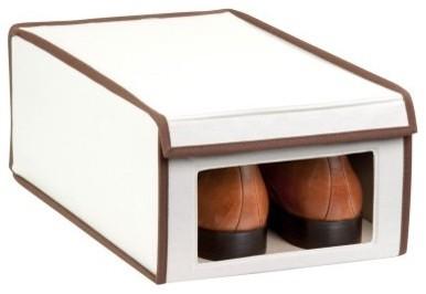 Honey Can Do Natural Canvas Window Storage Box modern-closet-organizers