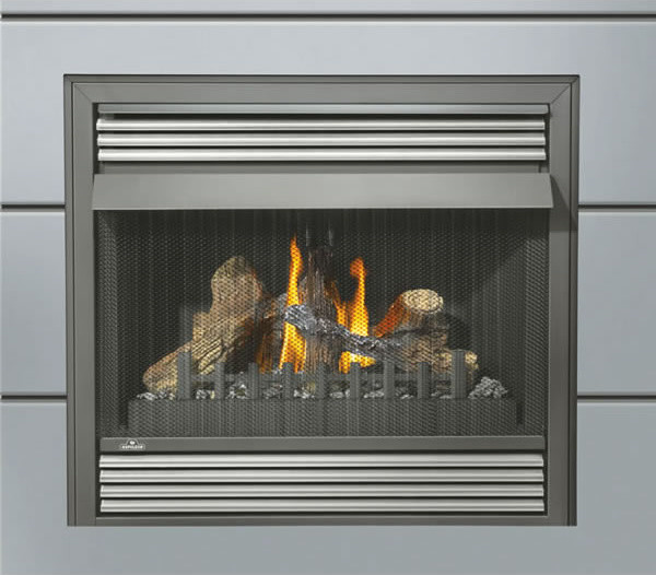 Gvf36p Napoleon Vent Free Gas Fireplace Zero Clearance Lp Modern Indoor Fireplaces By