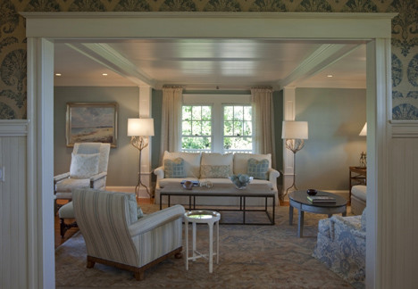 Watch Hill Rhode Island Residence traditional living room