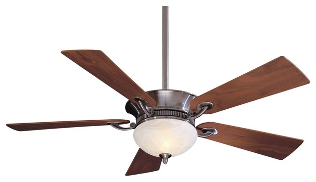 """52"""" Minka Aire Delano Pewter Ceiling Fan contemporary-ceiling-fans"""