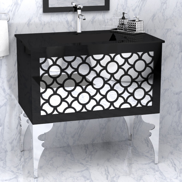 Phantom by the furniture guild modern bathroom vanities and sink consoles atlanta by the for Furniture guild bathroom vanities