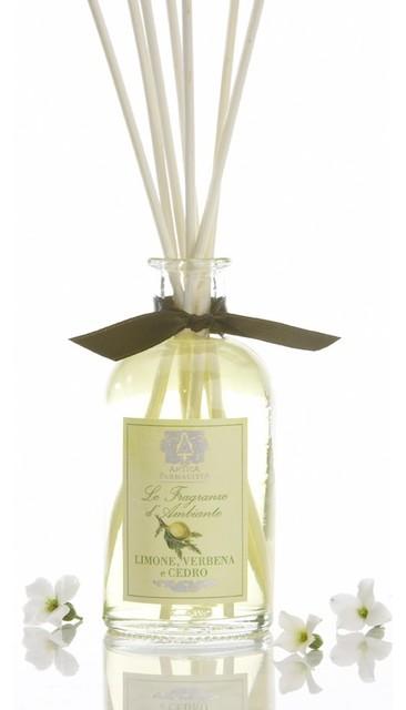 Lemon Verbena & Cedar Room Diffuser traditional-candles-and-candleholders