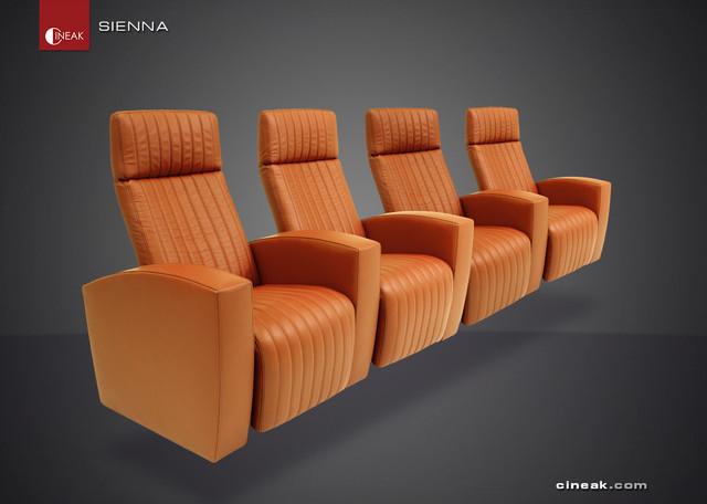 CINEAK Sienna Luxury Home Theater Seats Modern san