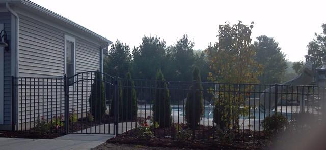 Ornamental Aluminum Fence pool