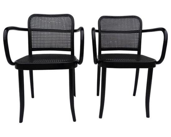Joseph Hoffman Design Bentwood Chairs - $699 Est. Retail - $359 on Chairish.com -