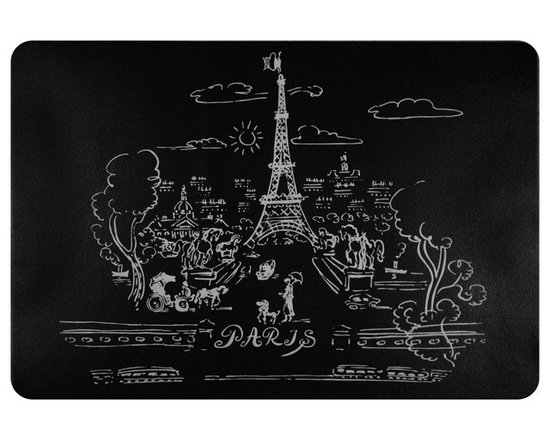 None - Paris Premium Kitchen Comfort Mat (2' x 3') - Add comfort and style to your home with the Paris premium kitchen comfort mat.