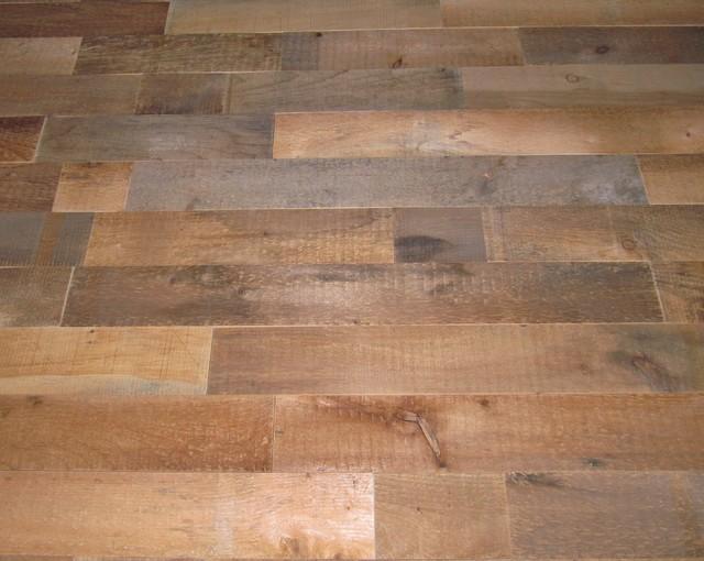 Reclaimed Wood Wall Covering DIY, 20 Square Feet, Plain Edge - Rustic ...