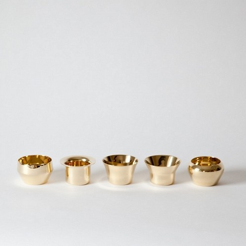 Brass Tea Light Holders Modern Candleholders By Mj Lk