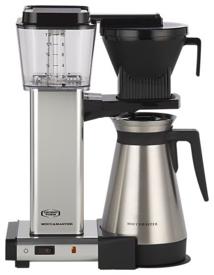 Moccamaster 10 Cup Coffee Maker Modern Coffee Makers