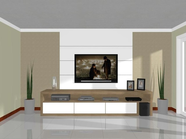 Projects in 3D modern