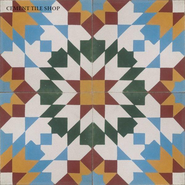 Moroccan Collection mediterranean-floor-tiles