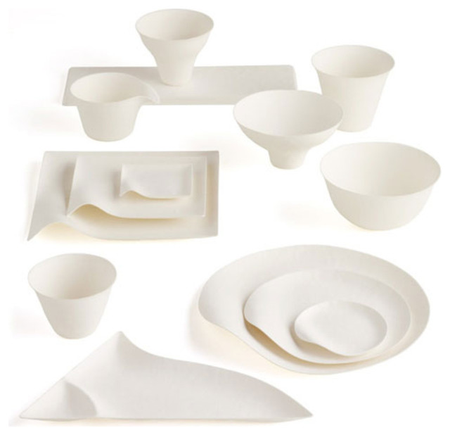 Contemporary Dinner Plates by A+R