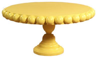 Shannon Cake Plate by Delightfully Lovely modern-serveware