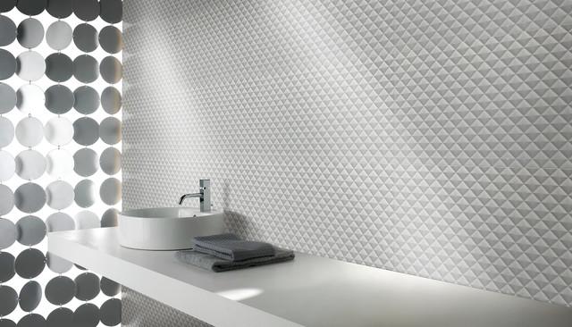 Minimalism contemporary-tile