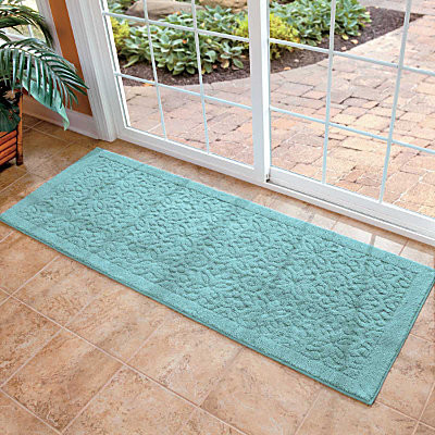 washable embossed runner 6 contemporary rugs by improvements catalog