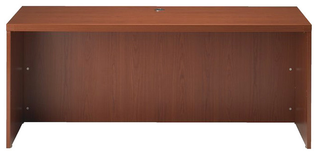 """Mayline Aberdeen Wood Credenza in Cherry-72"""" transitional-office-carts-and-stands"""