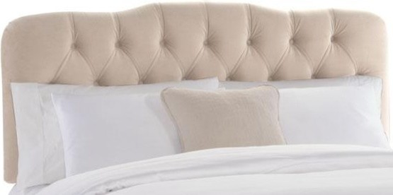 Tufted Princess Headboard traditional beds