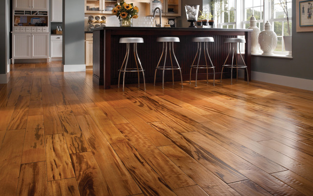 Tigerwood - Modern - Hardwood Flooring - other metro - by BR111 Hardwood Flooring