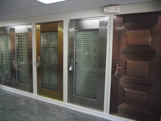 NAS doors - modern - front doors - miami - by Carril designs LLC