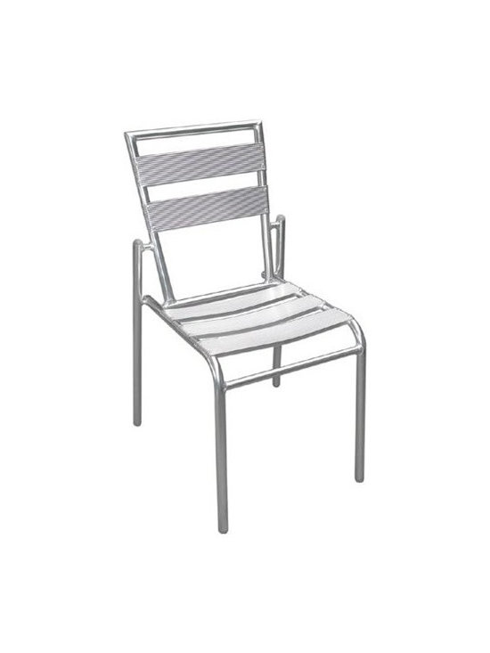Aluminum Patio Chair YA424-SO - This aluminum patio chair will make an excellent addition to any outdoor decor.