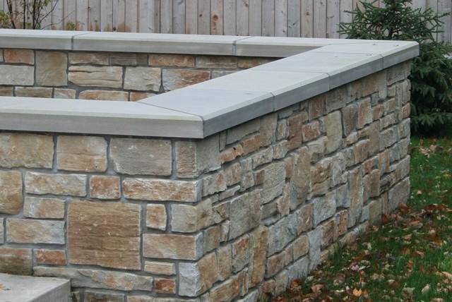 Rustic Ridge Veneer Retaining Wall Traditional