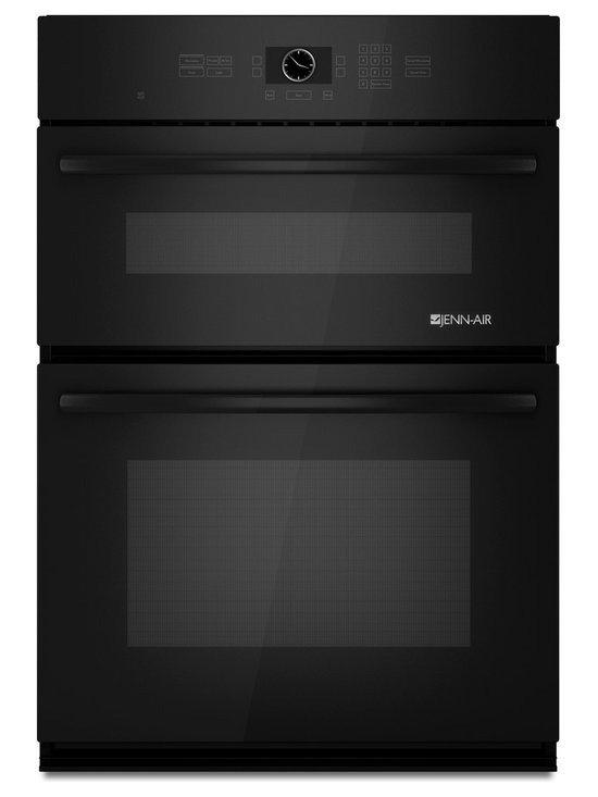"Jenn-Air 30"" Combination Microwave/wall Oven, Black On Black 