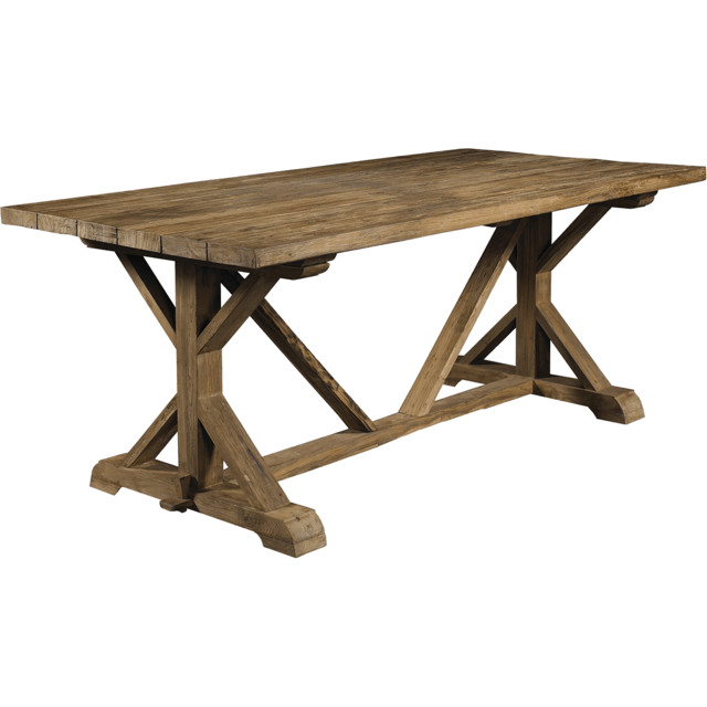 Padmas Plantation Xena Reclaimed Outdoor Teak Dining  : contemporary dining tables from houzz.com size 640 x 640 jpeg 54kB