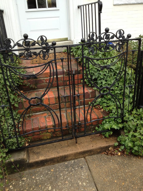 Found Object Compositions- Pair of Garden Gates - By Giovanni