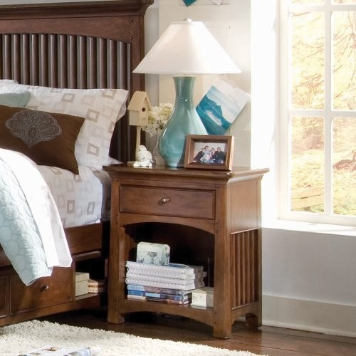 Lea Industries Elite Crossover Nightstand traditional-nightstands-and-bedside-tables