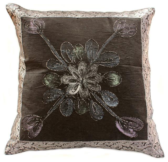 Decorative Pillow Covers - Asian - Decorative Pillows - boston - by Banarsi Designs